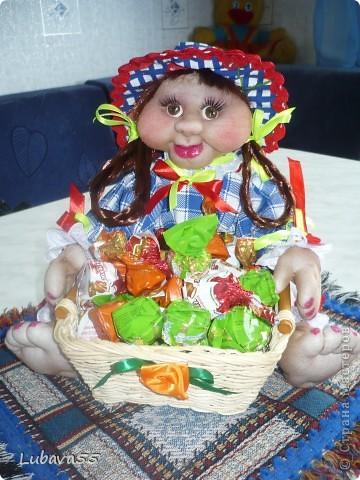 Куклы- конфетницы фото 4