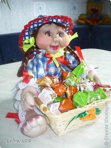 Куклы- конфетницы фото 6