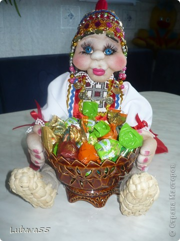 Куклы- конфетницы фото 11