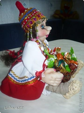Куклы- конфетницы фото 12