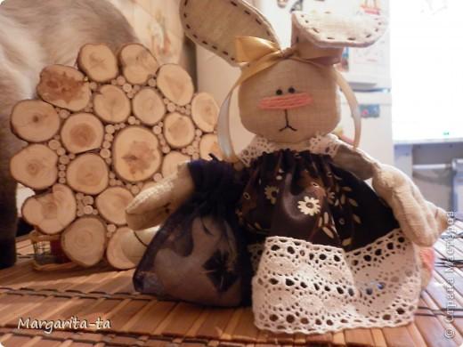 Вот такая милая Зайка у меня вчера родилась)Подарю подруге на День Рождение! фото 3