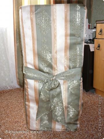 Это первый опыт шитья из портьерной ткани. фото 4