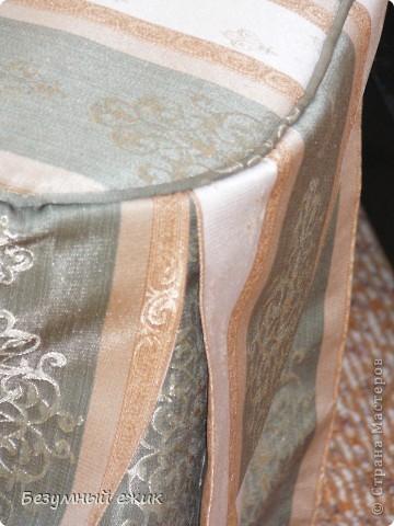 Это первый опыт шитья из портьерной ткани. фото 5
