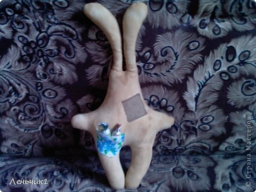 Идея создания этого зайца взята из блога Розетки, за что ей огромное спасибо! Мы с мужем никак не могли договориться по поводу имени: я говорила - Пряник, а муж - Печенюшка. Вот и получился Пряник Печенюшкин фото 3
