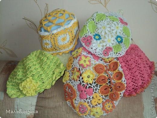 Вот они наши шапочки на все случаи жизни и под гардероб. фото 1