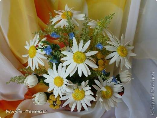 первые ромашки (наконец-то я начала осваивать другие цветы) фото 5