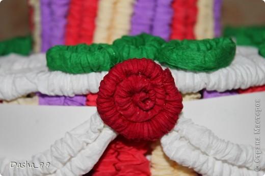 Ну вот он мой тортик! Тортик выполняла по этому мастер классу  http://stranamasterov.ru/node/31491?tid=451.  фото 2