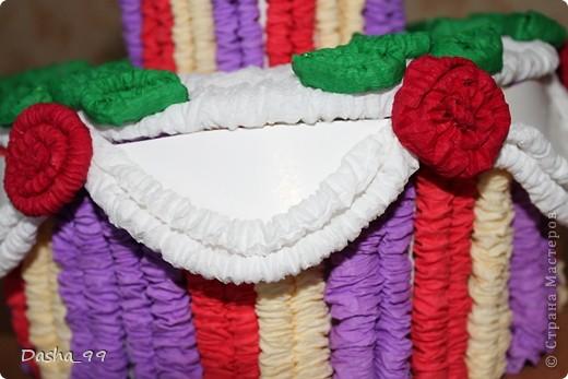 Ну вот он мой тортик! Тортик выполняла по этому мастер классу  http://stranamasterov.ru/node/31491?tid=451.  фото 3