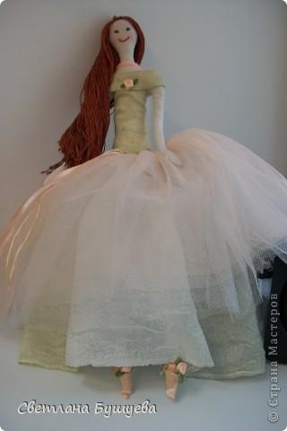 Кукла невеста. Родилась как украшение в свадебный салон. Первая кукла с использованием волос женского парика фото 6