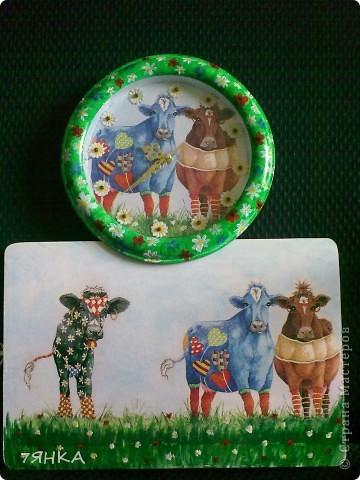 Часы с коровами  фото 2