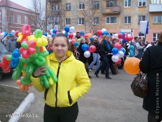 букетик из шариков фото 1