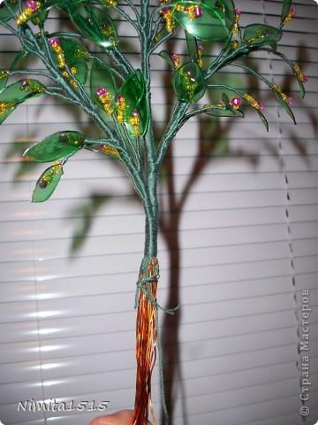 Вот такое у меня получилось деревце. фото 13