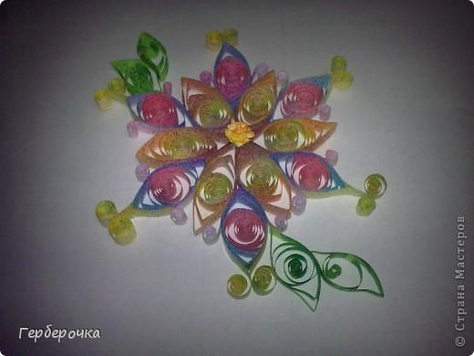 Цветок выполнен для участия в конкурсе   фото 1