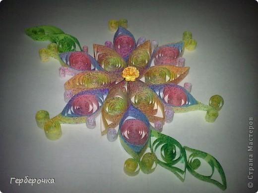 Цветок выполнен для участия в конкурсе   фото 5