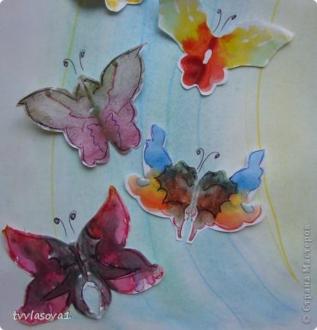 """Это моя самая любимая...Назвала ее """"вальс бабочек"""".Жаль,не переданы цвета, а когда смотришь,такое на душе................. фото 2"""