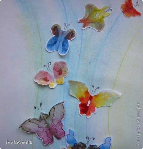 """Это моя самая любимая...Назвала ее """"вальс бабочек"""".Жаль,не переданы цвета, а когда смотришь,такое на душе................. фото 3"""