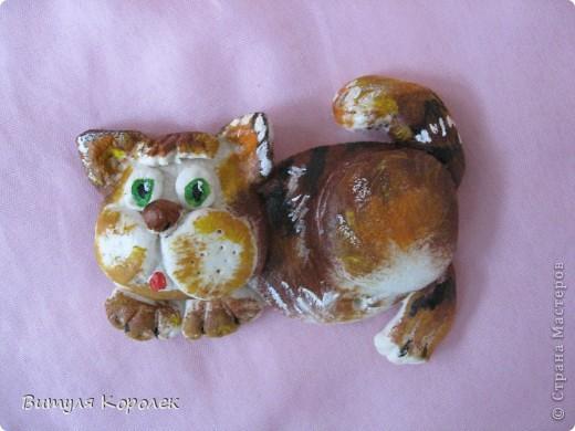 Прекрасные сны кот+пес сделала по рисунку Гари Патерсона. фото 10
