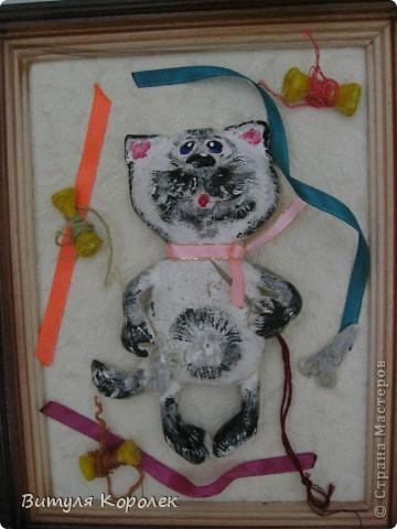 Прекрасные сны кот+пес сделала по рисунку Гари Патерсона. фото 3