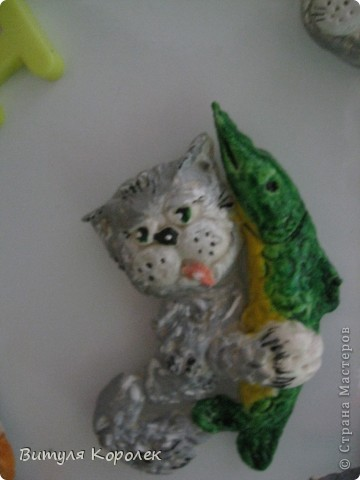 Прекрасные сны кот+пес сделала по рисунку Гари Патерсона. фото 11