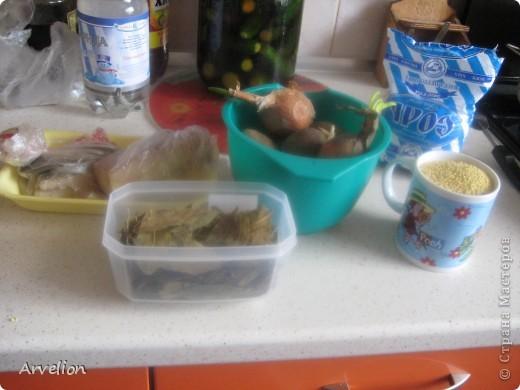 Крупник – густое первое блюдо, традиционное для белорусской кухни. Крупник можно сварить не только из перловой крупы, но и из ячневой крупы или пшена. Сытный крупник – очень дешевое и простое блюдо. В моем случае крупник получился из пшена. Вот такой он золотистый в готовом виде :)  фото 2