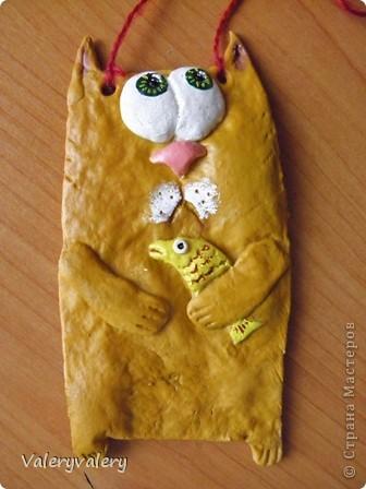 Вот такой солёный котик у меня вышел;) кривой,но любимый!!! фото 2
