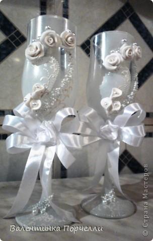 Белое платье,в бокалах ...., Горько гостям,а на сердце-легко. Вот обсыпают горстями монет Чтоб жить в достатке,богатстве,без бед фото 6