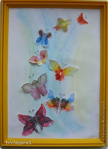 """Это моя самая любимая...Назвала ее """"вальс бабочек"""".Жаль,не переданы цвета, а когда смотришь,такое на душе................. фото 1"""
