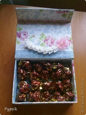 Зная про моё хобби, мне отдали коробочку, а я ее оформила на свой вкус))) фото 5