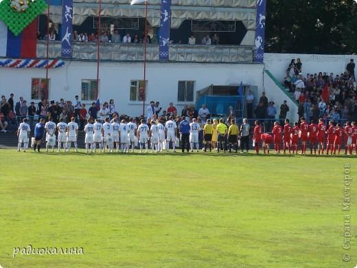 В Арзамасе прошел праздник с благотворительными футболом между московскими артистами и нижегородской властью, деньги от которого были отданы больным детям . фото 3