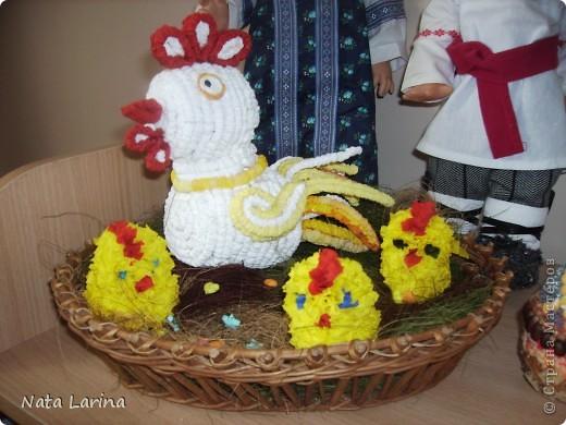 Курочка с цыплятами.