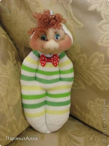 Доброго времени суток, Страна! Второй апргейд носочным куклам - на этот раз они из простых носков, а не из мохровых. фото 1