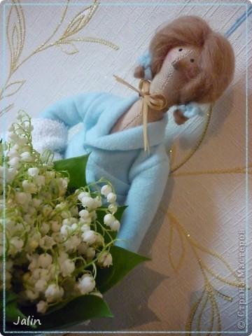 Куклы Шитьё Банная Тильда + выкройка Бисер Краска Ткань Шерсть фото 1.