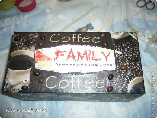 кофейная салфетница фото 1