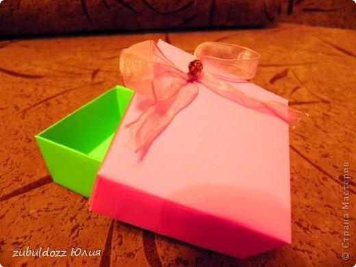 Подарочная коробочка за 15 минут фото 1