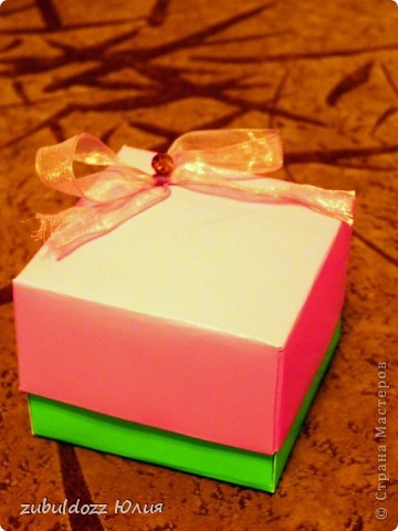 Подарочная коробочка за 15 минут фото 2