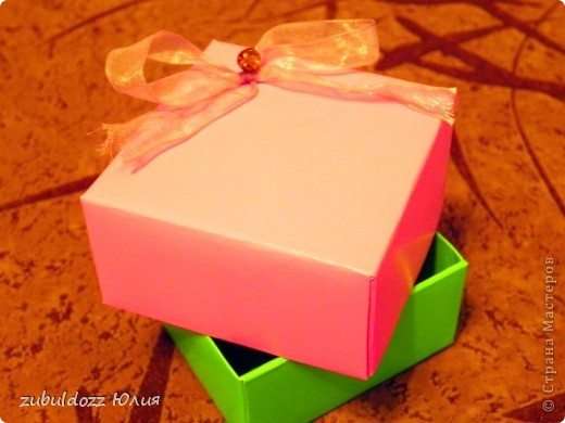 Подарочная коробочка за 15 минут фото 3