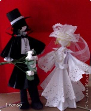 Наконец сделала женишка для моей невестушки. фото 1