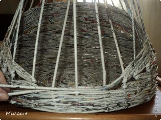 Мастер-класс Поделка изделие Плетение МК Кошкин дом Бумага газетная фото 4