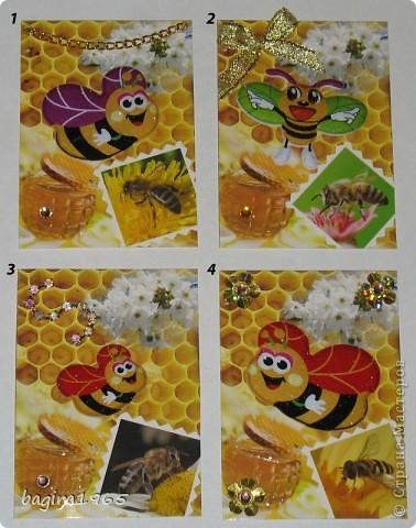 Серия посвящается любителям сладкого мёда и Пчелке Жуже.   В долгу перед bibka, она первой и выбирает.  № 1 - Смурфочка  № 2 - Дарёнка № 3 - werunka № 4 - МаЮрКа  фото 1