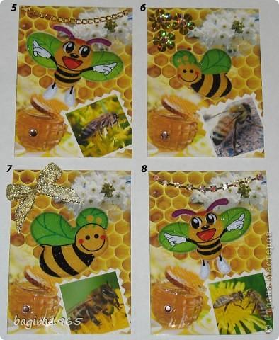 Серия посвящается любителям сладкого мёда и Пчелке Жуже.   В долгу перед bibka, она первой и выбирает.  № 1 - Смурфочка  № 2 - Дарёнка № 3 - werunka № 4 - МаЮрКа  фото 2
