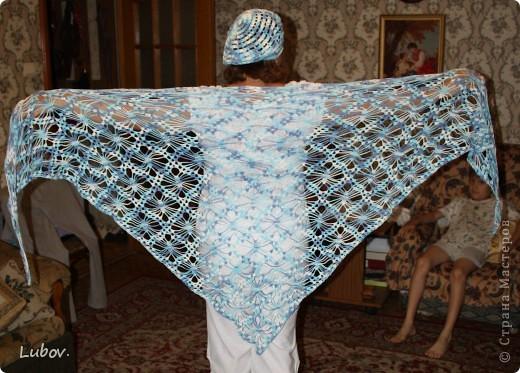 Моя первая шаль! фото 3