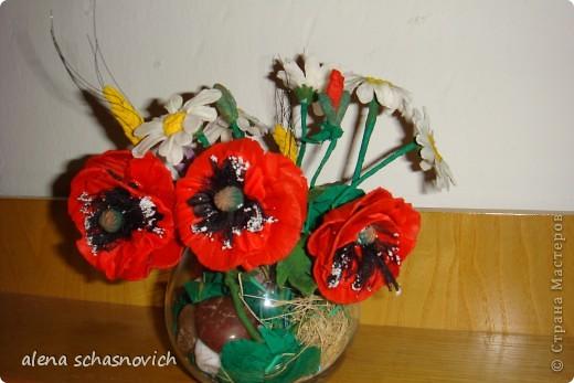 Полевые цветы.Ничего нового конечно ,но для меня они очень много значат --ведь они первые!!! фото 1