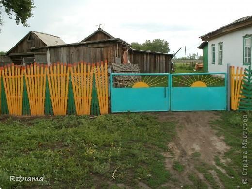 елочный  забор фото 1