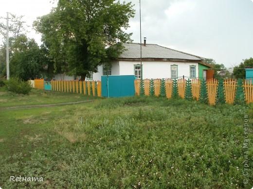 елочный  забор фото 3