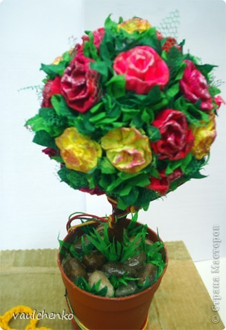 Ко дню рождения для замечательного человека решила сделать классическое деревце. фото 4