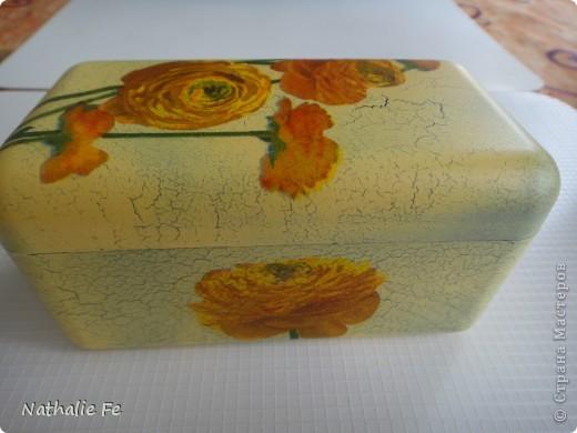 """Декупаж коробочки из-под конфет """"Ferrero rocher"""" фото 2"""
