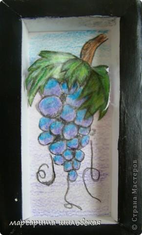 Вот они анютины глазки и виноградик. фото 6