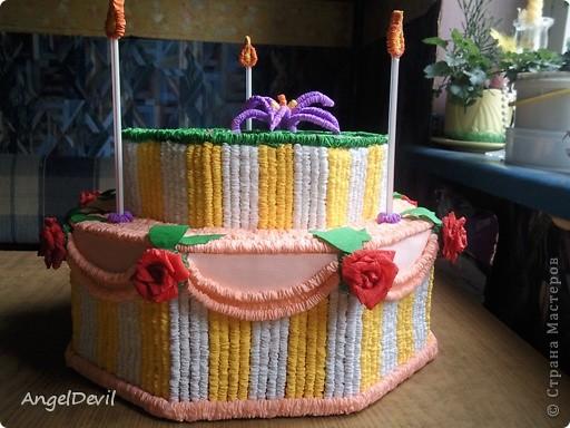 Тортик на день рождения фото 1