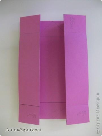 Вот такую открыточку коробочку я сделала по просьбе мастериц. В этот раз она получилась как раз по размеру карточки АТС. фото 7