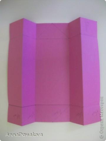 Вот такую открыточку коробочку я сделала по просьбе мастериц. В этот раз она получилась как раз по размеру карточки АТС. фото 8